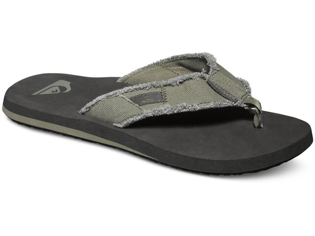 Quiksilver Monkey Abyss - Sandalias Hombre - negro/Oliva